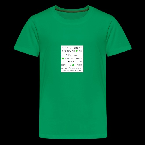 Believer in Luck - Kids' Premium T-Shirt