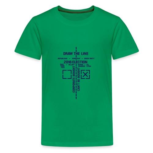2016_Draw_The_Line_noSten - Kids' Premium T-Shirt