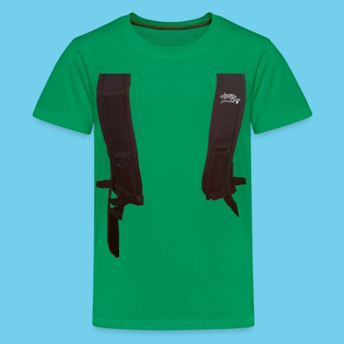 Backpack straps - Kids' Premium T-Shirt