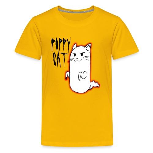 cat shirt poppy - Kids' Premium T-Shirt