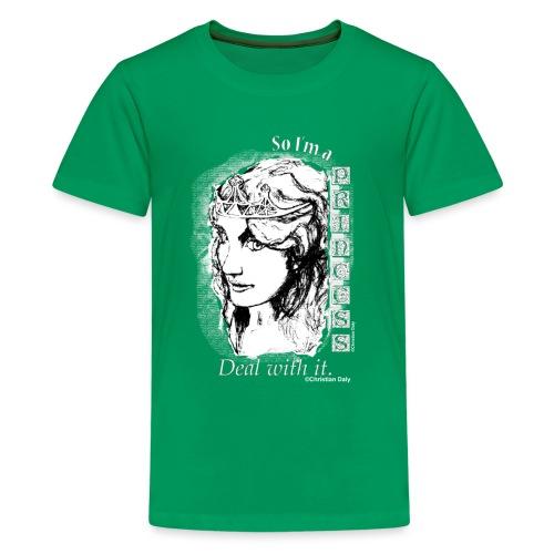 So I'm a Princess White... - Kids' Premium T-Shirt