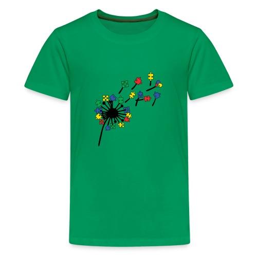 Autism Awareness Dandelion - Kids' Premium T-Shirt
