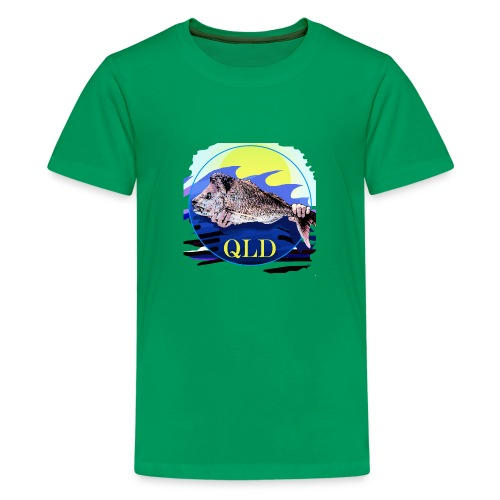 SNAPPER FISHING OFFSHORE AND INSHORE QLD - Kids' Premium T-Shirt