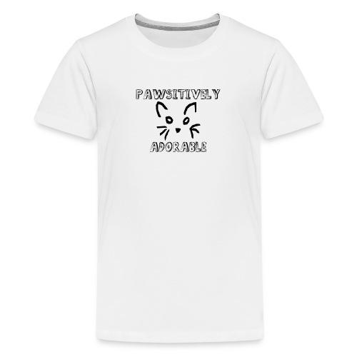 Pawsitively Adorable - Kids' Premium T-Shirt