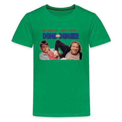 Dumb and Dumber Dan Andrews Brett Sutton - Kids' Premium T-Shirt