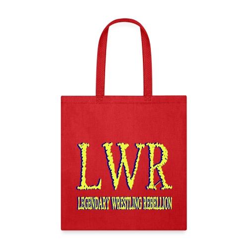 LWR BLUE YELLOW LOGO - Tote Bag