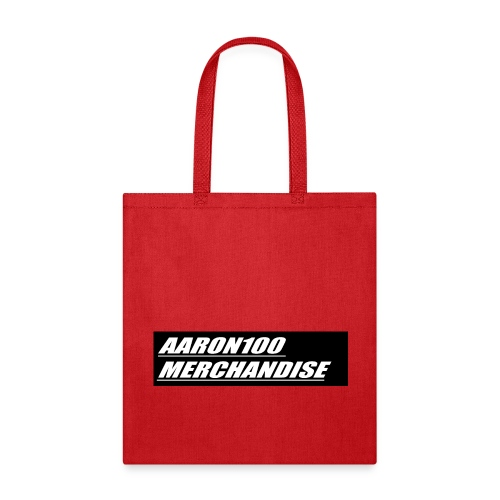 BLACK AND WHITE line aaron100 merchandise - Tote Bag