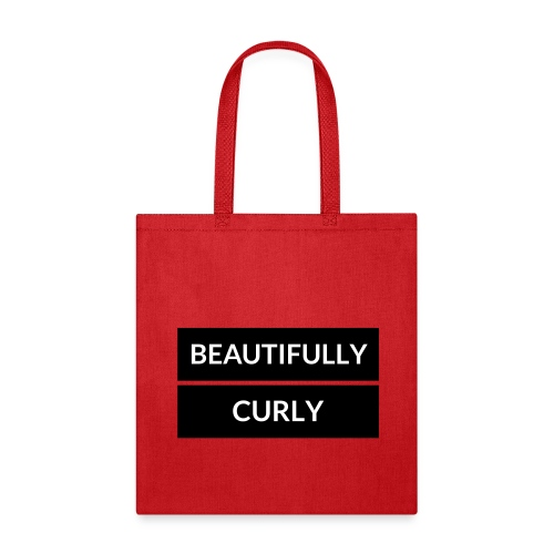Beautifully Curly 2 - Tote Bag
