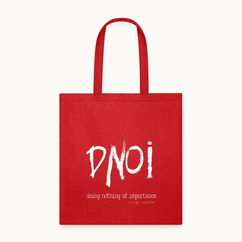 DNOI GRUNGE Carolyn Sandstrom WT TEXT - Tote Bag