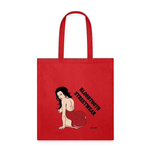 BLOODTOOTH PINUP GIRL - Tote Bag