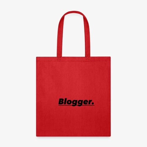 BLOGGER SHIRT - Tote Bag