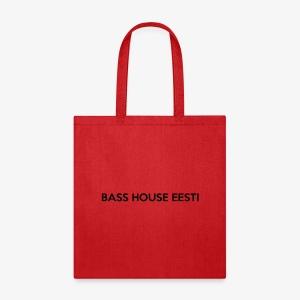 Bass House Eesti Logo Black - Tote Bag