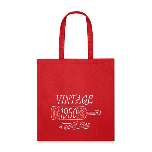Vintage 1950 a Great Year - Tote Bag