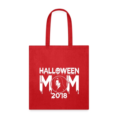 Hatchet Halloween Mom 2018 Tee - Tote Bag