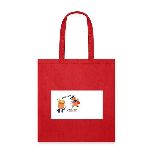 caricature of Donald Trump - Tote Bag