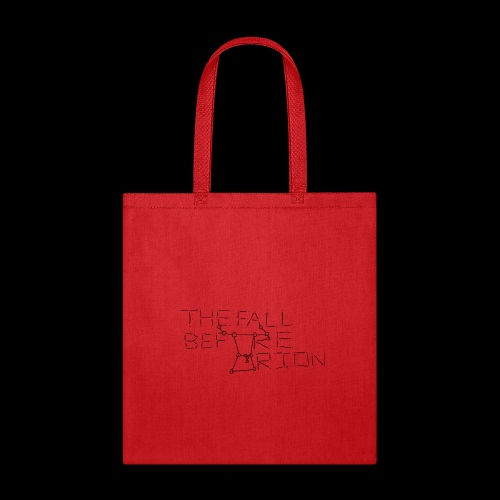 The Fall Before Orion Logo (Black) - Tote Bag