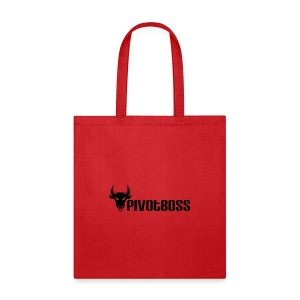 PivotBoss Black Logo - Tote Bag