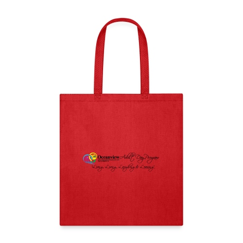 DAY PROGRAM LOGO BLACK - Tote Bag