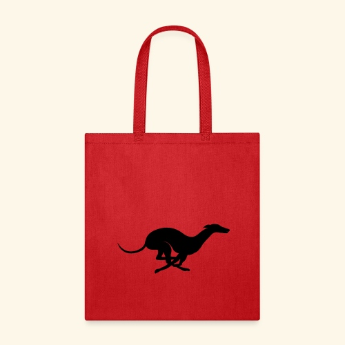X Racing Greyhound Track Dog Running - Tote Bag