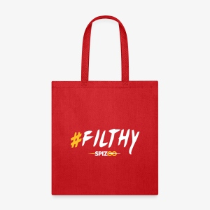 #Filthy white - Spizoo Hashtags - Tote Bag