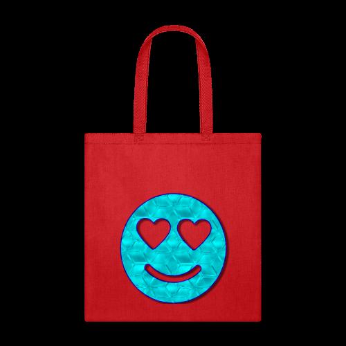 Smiley Love-Blue - Tote Bag