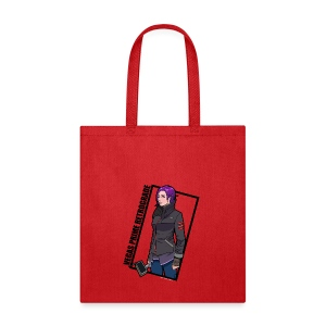 Vegas Prime Retrograde - Clara with Black Border - Tote Bag