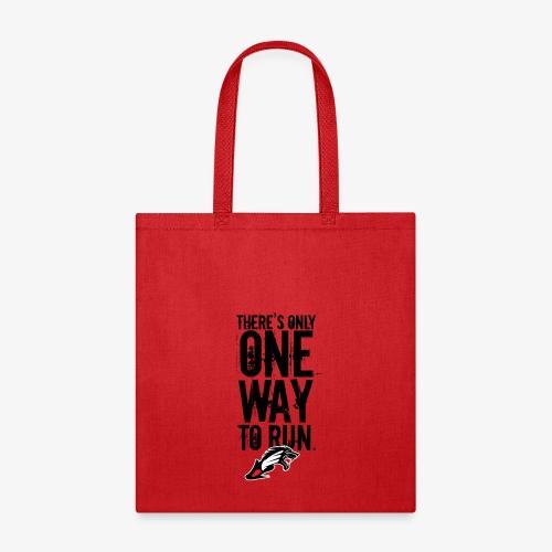 Beast Runner Red/Black - Tote Bag