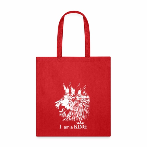 i am a king - Tote Bag