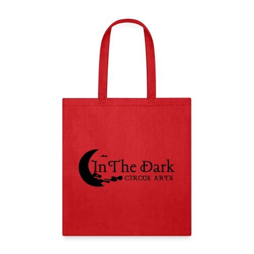 in the dark logo 2 blk - Tote Bag