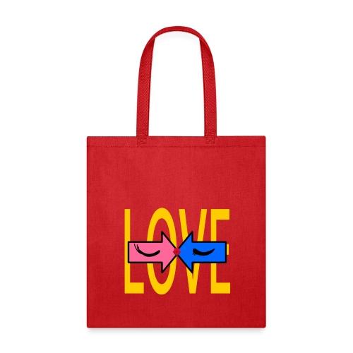 two roads one love - Tote Bag