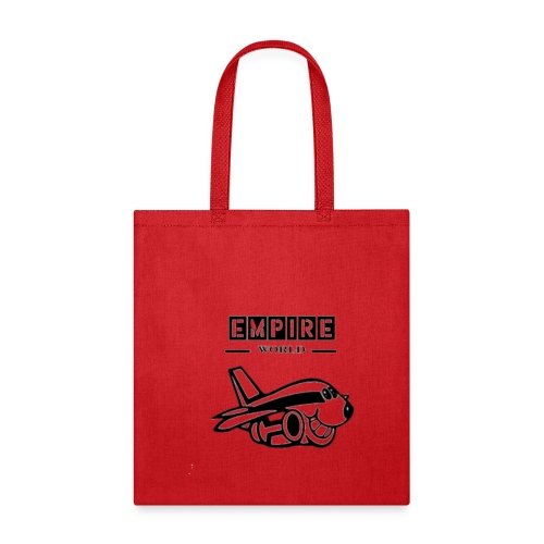 EmpireWorld Airplane resized - Tote Bag