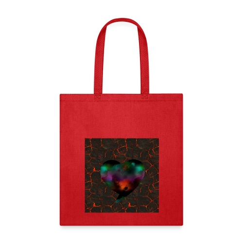 Heart of fire - Tote Bag