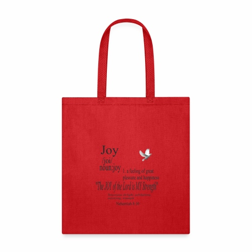 Fruit of the Spirit Collection: Joy - Tote Bag