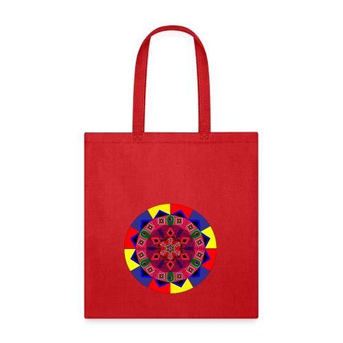 Mandala Colourful Cool Design - Tote Bag