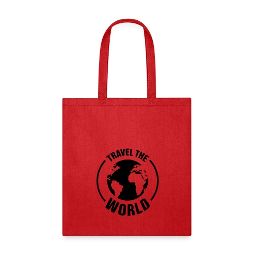 travel the world by Own T-shirt Designs - Tote Bag