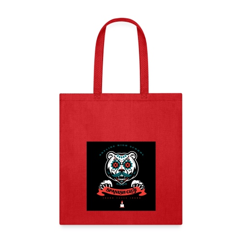 Grizz Day of the Dead Sweatshirt - Tote Bag