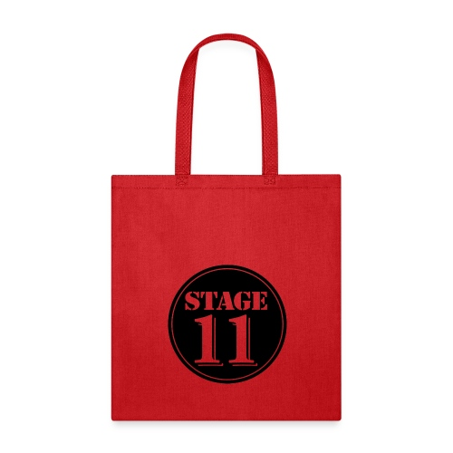 stage11 logo circle TRANSPARENT - Tote Bag