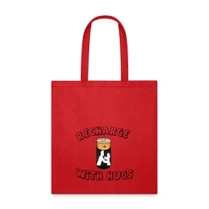Recharge with hugs - Tote Bag