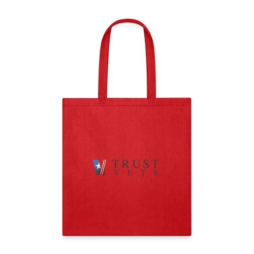 Trust Vets Dark Horizon Print - Tote Bag