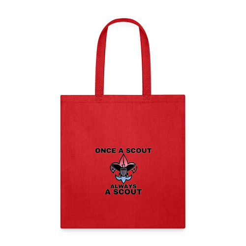 Once A Scout Always A Scout - Tote Bag
