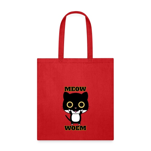MEOW CAT T-SHIRT - Tote Bag
