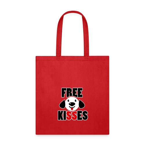 Free Kisses T Shirt - Tote Bag
