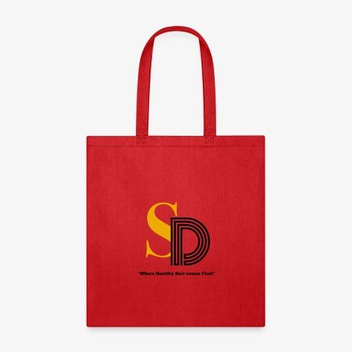 SD striped logo - Tote Bag
