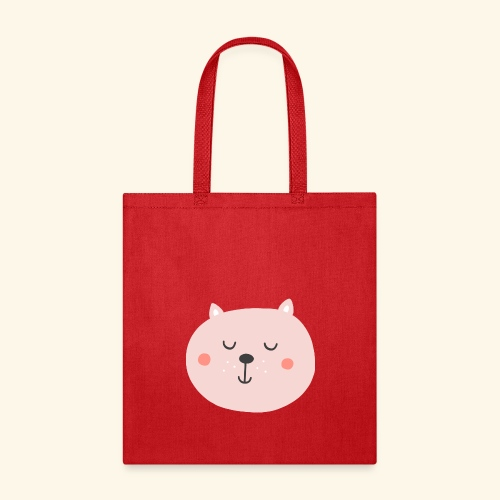 Cute Pink cat - Tote Bag