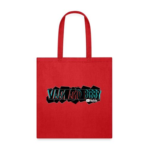 Retro Funk V&B Geometry Logo! - Tote Bag