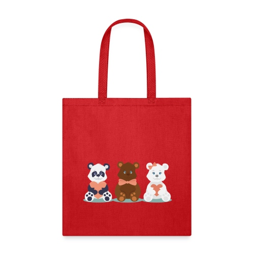 Teddy Friends - Tote Bag