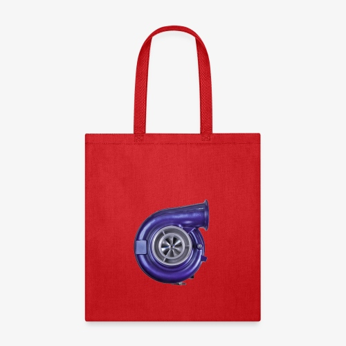 Blue Turbo Boost - Tote Bag