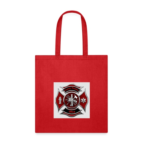 In THE LOVING MEMORY OF FIREFIGHTER COREY PENNY - Tote Bag