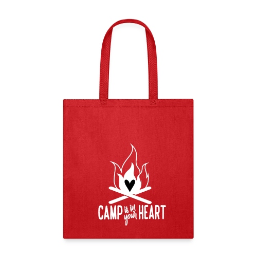 Camp is in your Heart - Tote Bag