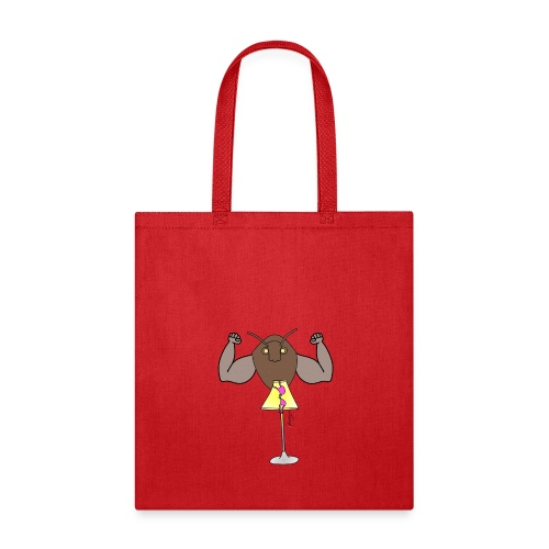 Moth + Muscles v. Lamp - Tote Bag